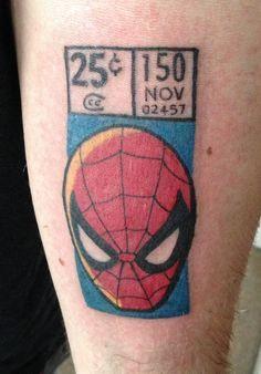 Spider Man Tattoo John Romita